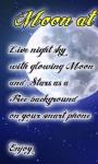 Moon at Night Live Wallpaperfree screenshot 1/3