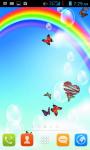 Cartoon Rainbow Live Wallpaper Free screenshot 1/4