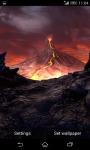 Volcano 3D Live Wallpaper  screenshot 1/4