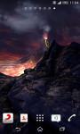 Volcano 3D Live Wallpaper  screenshot 3/4