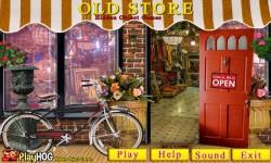 Free Hidden Object Games - Old Store screenshot 1/4