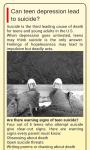 Teen Depression Advice screenshot 3/3
