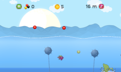 Jumping Fish: Catch The Pearl screenshot 2/4