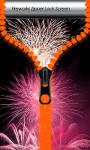 Fireworks Zipper Lock Screen Top screenshot 1/6