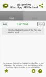 WaSend Inviare qualsiasi file ultimate screenshot 3/4