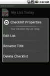 Checklist with Photo Tagging screenshot 5/6
