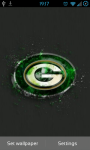 Green Bay Packers NFL Live Wallpaper screenshot 1/3