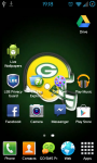 Green Bay Packers NFL Live Wallpaper screenshot 2/3