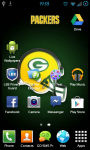 Green Bay Packers NFL Live Wallpaper screenshot 3/3