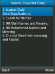 Islamic Daily Dua Durood Shareef Surah and More screenshot 1/4