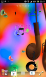 music notes live wallpaperz screenshot 3/6
