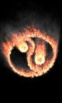 Burning jing jang lwp Free screenshot 4/5