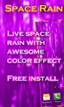 Space Rain Matrix LWP free screenshot 1/3