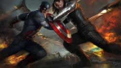 Captain America The Winter Soldier Wallpaper LIVE screenshot 1/6