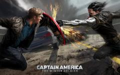 Captain America The Winter Soldier Wallpaper LIVE screenshot 2/6
