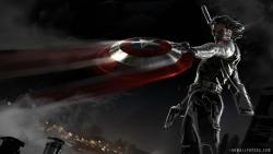 Captain America The Winter Soldier Wallpaper LIVE screenshot 4/6