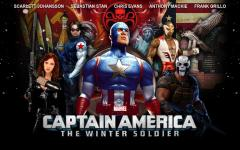 Captain America The Winter Soldier Wallpaper LIVE screenshot 5/6
