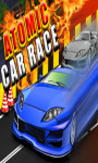 Atomic Car Race - Free screenshot 1/4