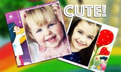 Kid Photo Frame Collage screenshot 1/6
