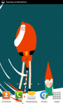 Santa and Elf Animated Live Wallpaper screenshot 2/4