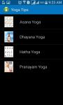 Free Yoga Tips screenshot 1/5