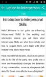 Learn Interpersonal Skills screenshot 2/3
