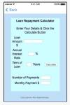 Loan Repayment Calculator App screenshot 2/4