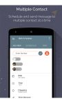 SMS Scheduler - Android App screenshot 1/6