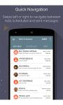 SMS Scheduler - Android App screenshot 2/6