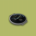Pujie Black Watch Face next screenshot 5/6