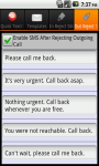 QText and Call Reject SMS AddFree screenshot 2/6