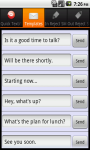 QText and Call Reject SMS AddFree screenshot 6/6