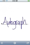 Autograph screenshot 1/1