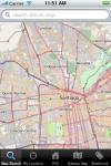 Santiago de Chile Map screenshot 1/1