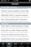 Czech News screenshot 1/1