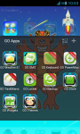 Monsters Theme Go Launcher  screenshot 3/3