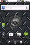 Harley-Davidson Skull Battery Widget screenshot 1/3
