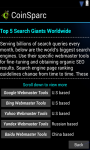 Coinsparc SEO App for Android screenshot 4/4