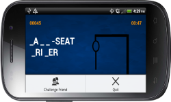 Words and Friends Hangman screenshot 5/5