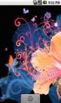 Cool Flower Abstract Live Wallpaper screenshot 1/5