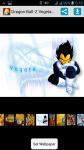 Dragon Ball-Z Vegeta HD screenshot 1/4