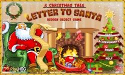 Free Hidden Object Games - Letter to Santa screenshot 1/4