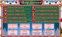 Free Hidden Object Game - Christmas Snow screenshot 4/4