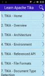 Learn Apache Tika screenshot 1/3