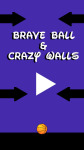 Brave Ball And Crazy Walls screenshot 1/6