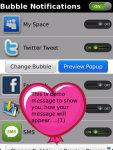 Bubble Notifications Free screenshot 3/5