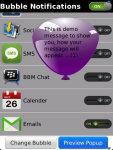 Bubble Notifications Free screenshot 5/5