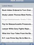 ABA Journal screenshot 1/1