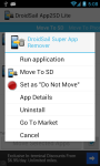 DroidSail Super App2SD for ROOTed user screenshot 2/5
