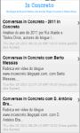In Concreto - Plataforma Windows Mobile screenshot 3/3